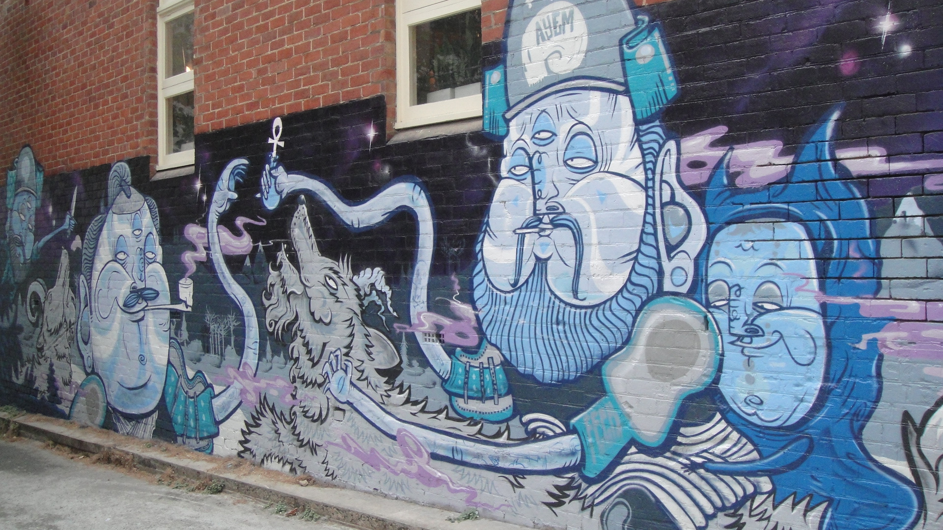 vandalism in street art 'beyond the streets,' and far from vandalism: street art gets a massive show outlaws that's what they were called when they plastered their art on buildings and subway cars.